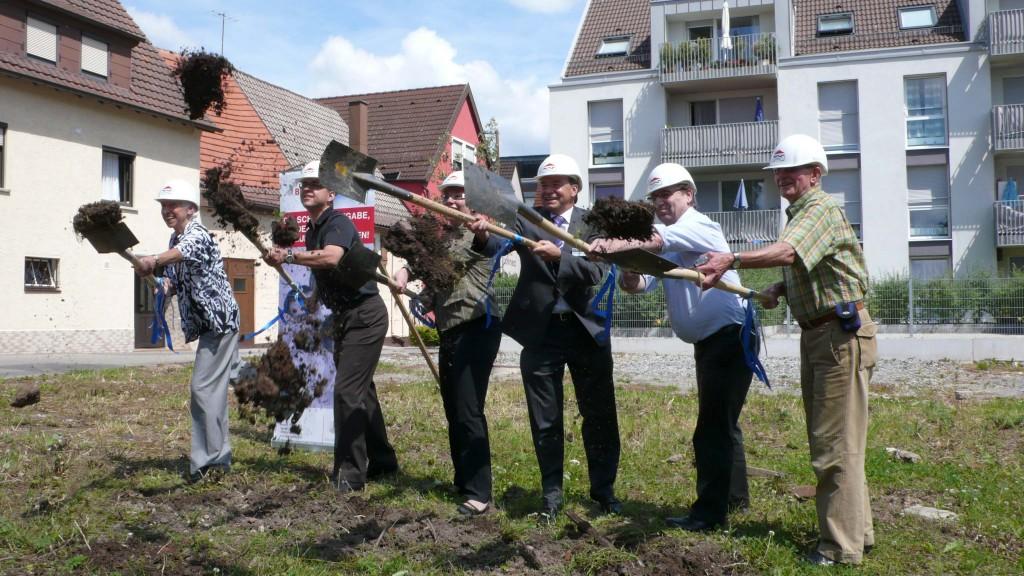 Spatenstich BBG Eisgässle 12.08.2009